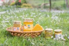 Cvetni prah in različni medovi.