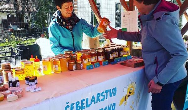 Tržnica lokalnih pridelkov zgornjega Posočja