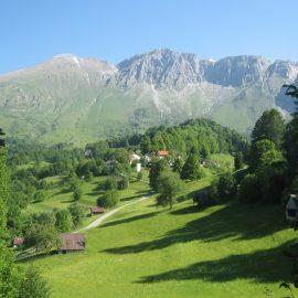 Krn in planine pod Krnom