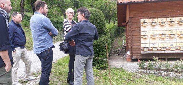 Obisk novinarjev
